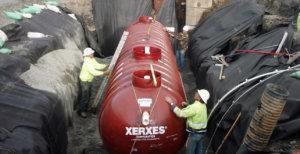 Inspection of underground tank
