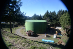 Shelter Cove water tank replacement project
