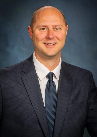 Portrait of Andrew Hagen, Assistant Controller
