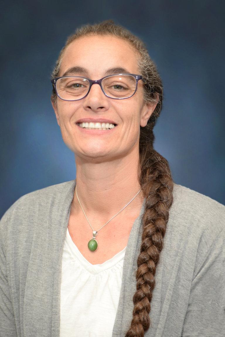 Portrait of Cheri Watt, Assistant Geologist