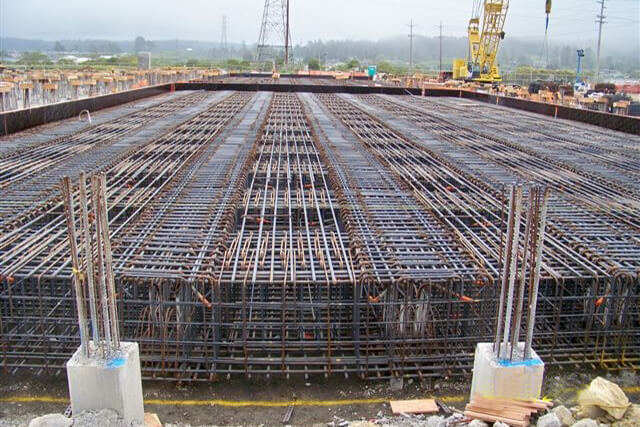 Rebar at Humboldt Bay Power Plant