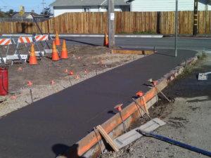 Fort Bragg sidewalk replacement