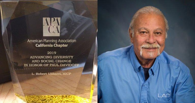 Bob Ulibarri is an award winner.