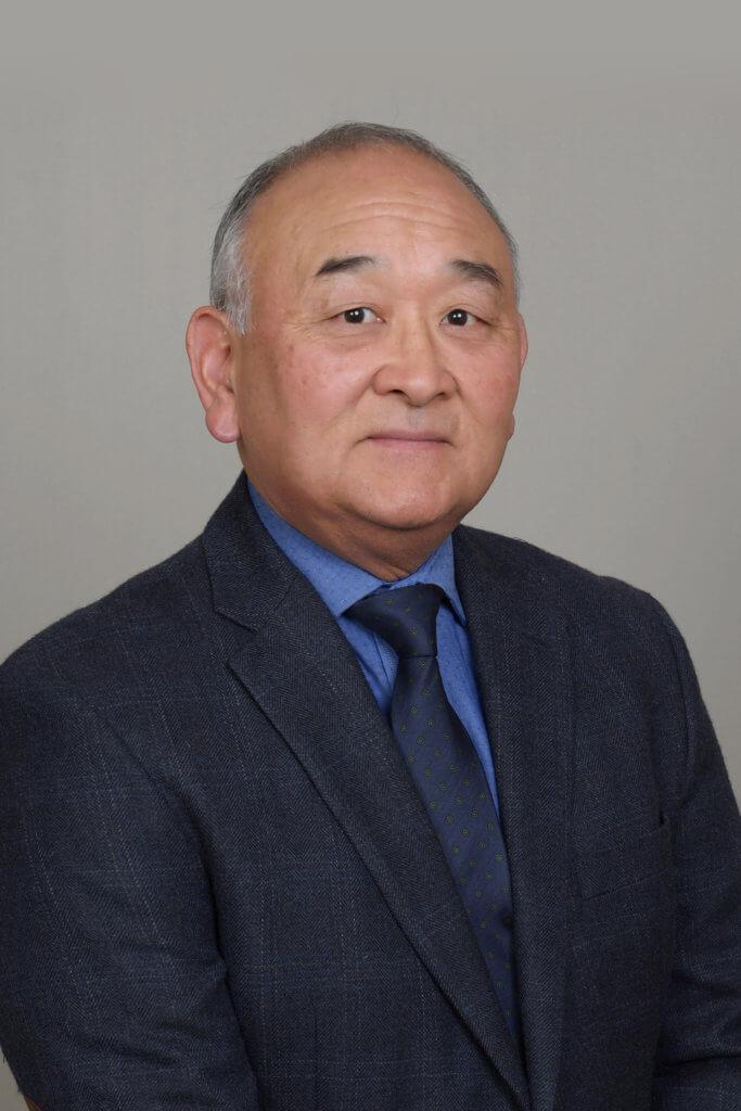 Portrait of Bruce Shimizu